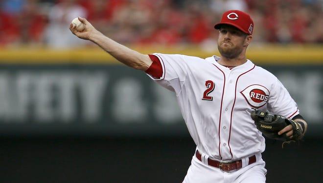 Reds shortstop Zack Cozart
