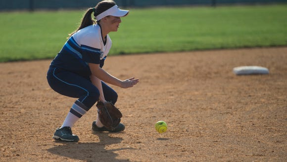 Enka shortstop Claire Crout has committed to play college softball for Tusculum University