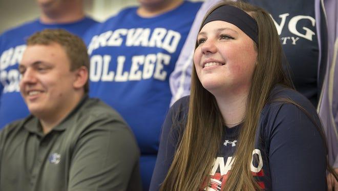 West Henderson graduate Michaela Morris is a freshman at King (Tenn.).