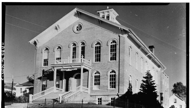 Madison County Courthouse, 1963.