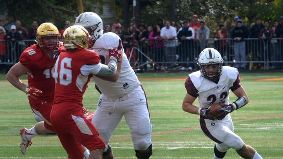 From 2016: Tommy Courtney scores against Bergen Catholic for Don Bosco.