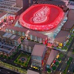 Detroit's Downtown Development Authority formally approved the financial plan for building the proposed new arena in Detroit and released new details and renderings of its arena and entertainment district. Detroit Fueled Designed.