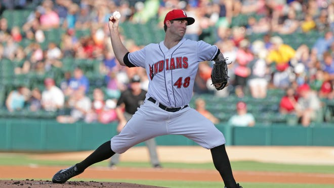 Indianapolis Indians pitcher Trevor Williams threw four scoreless innings in the Tribe's win Friday night.
