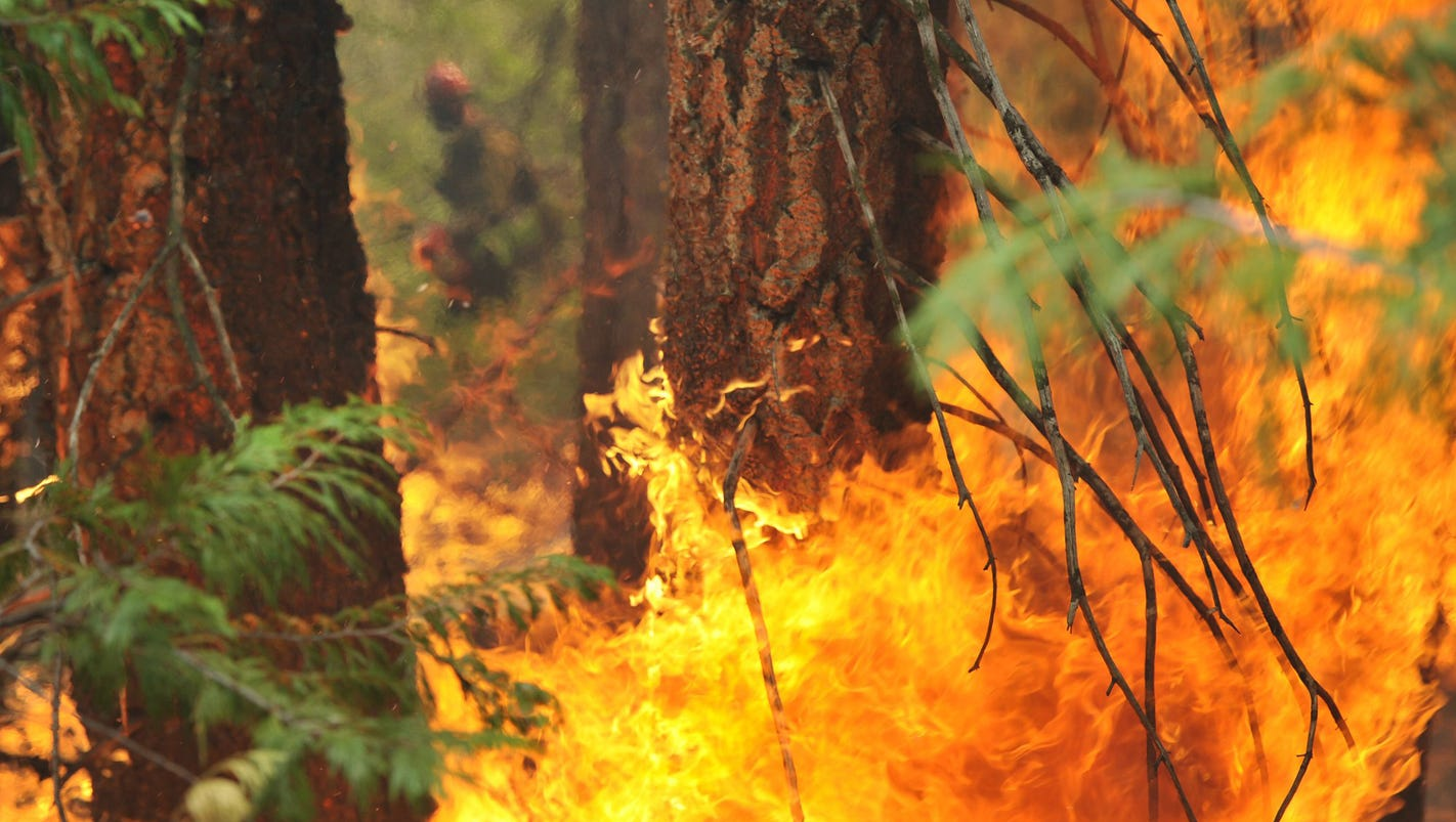 Yes, even legal target shooting can start wildfires