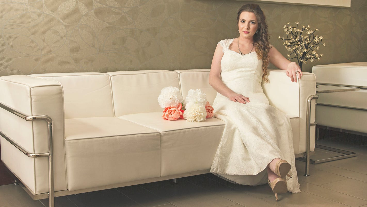 Goodwill showcases wedding dresses for brides