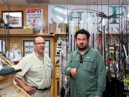 Skip Storch, owner of Shu-Fly Tackle & Fly Shop in