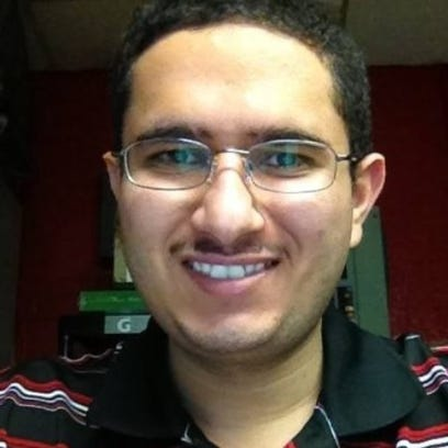 Ahmed Dhalai, 24, was killed when the Bull Market was
