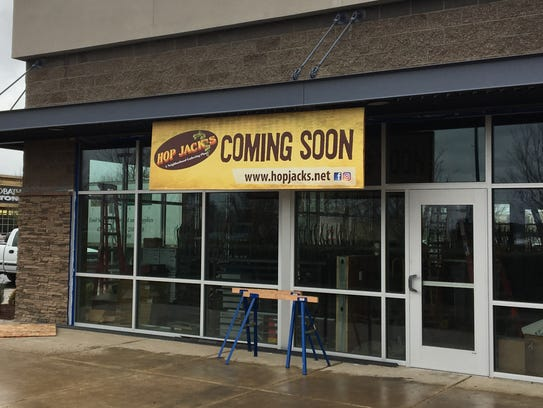 Construction of a new Hop Jack's location at 6295 Keizer