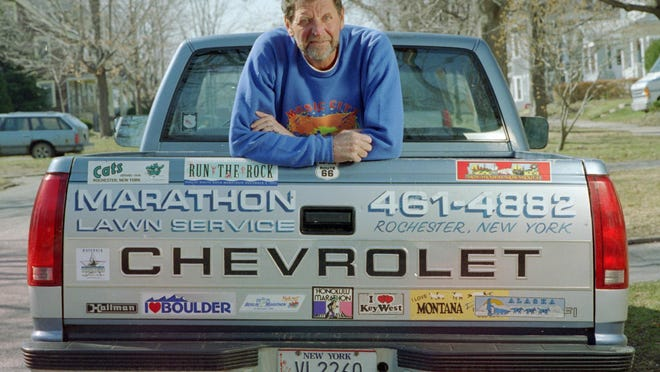 Norm Frank of Brighton, who ran 965 marathons - including at least one in all 50 states, died Tuesday at the age of 83.