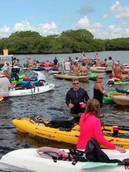 The Endless Summer Paddle & Sandbar Party annual event