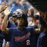 The Minnesota Twins' Miguel Sano hit a 3-run home run during the first inning Tuesday against the Tampa Bay Rays at Tropicana Field.