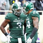 Out of a crowded backfield, senior RB Gerald Holmes a vocal leader for Michigan State
