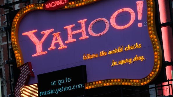The malware issue was the latest problem to hit the struggling Yahoo.