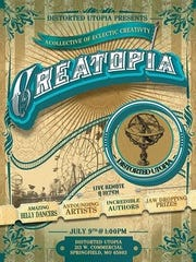 Creatopia will be a gathering of artisans, crafters