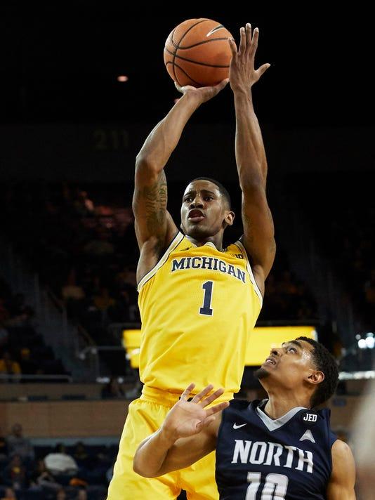 NCAA Basketball: North Florida at Michigan