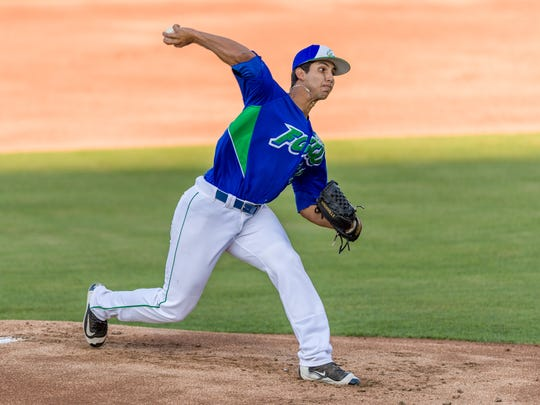 FGCU junior Mario Leon, a Gulf Coast High grad, has been huge for the Eagles as a mid-week starter.