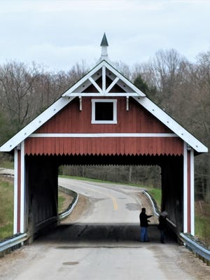 There area 19 covered bridges in Ashtabula County, most of any county in the state.