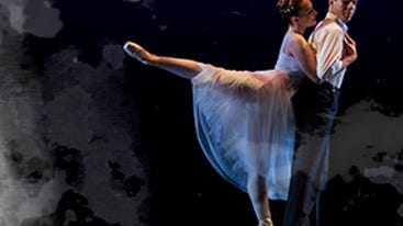 """Let's get straight to the pointe. Get in step when The Tallahassee Ballet glides into its 26th annual """"Evening of Music and Dance"""" concerts at 7:30 p.m. Friday and 2:30 p.m. Sunday at Opperman Music Hall, at the Florida State College of Music. The concert features original choreography by Katy E. Cashin, Kathryn Karrh Cashin, Lauren Hernandez and Trent Williams. Dancers Sarah Barton and Julian Cabrera are shown here. Ticket prices range from $25 to $48. Visit www.tallahasseeballet.org."""