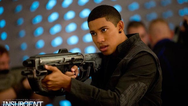 "In ""Insurgent,"" Keiynan Lonsdale plays Uriah Pedrad, a Dauntless-born Divergent."