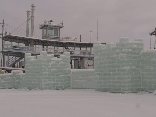 Mayville Ice Castle