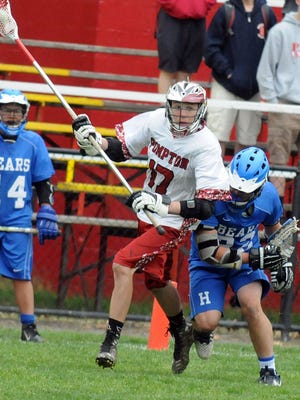 Junior Logan Mahoney and the Pompton Lakes boys' lacrosse team are competing as a first-year varsity program this spring.