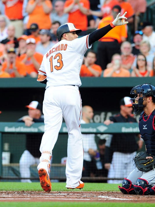 USP MLB: CLEVELAND INDIANS AT BALTIMORE ORIOLES S BBA BAL CLE USA MD