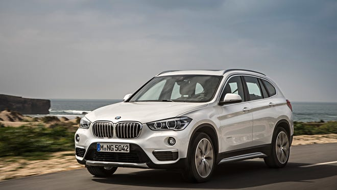 The 2016 BMW X1 will have a standard 228-hp four-cylinder engine, eight-speed transmission and all-wheel drive.