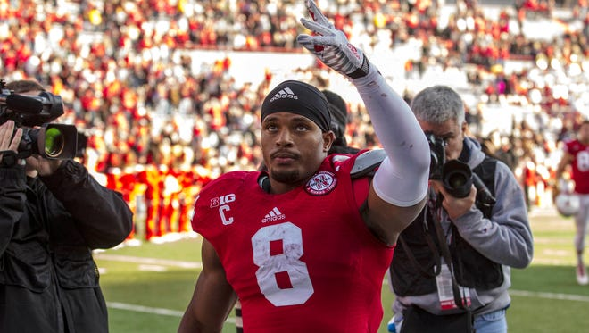 Nebraska's Ameer Abdullah, averaging 128.8 yards a game, will be the fifth top-10 rusher the Hawkeyes have faced this season.