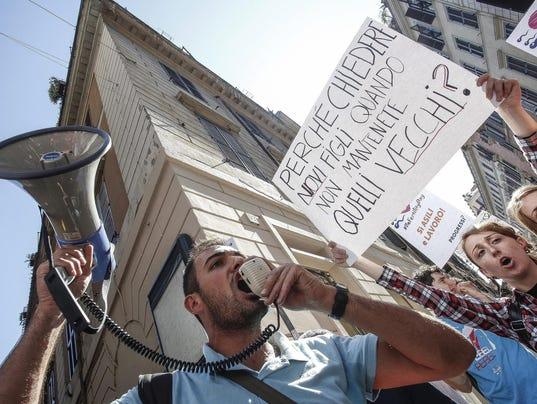 EPA ITALY PROTEST FERTILITY DAY HUM SOCIETY ITA
