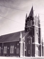 St. Joseph's Catholic Church in Rowena, as seen in a Standard-Times archival photo