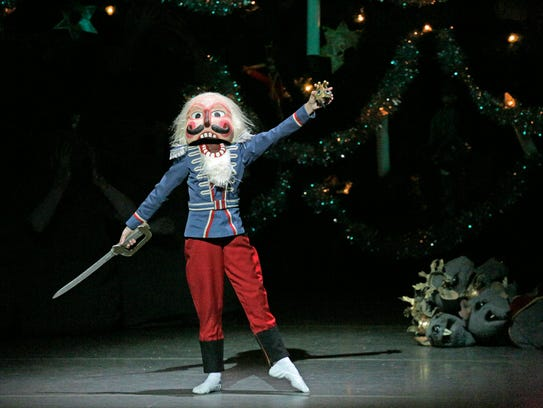 The Nutcracker comes to life in Act I of New York City