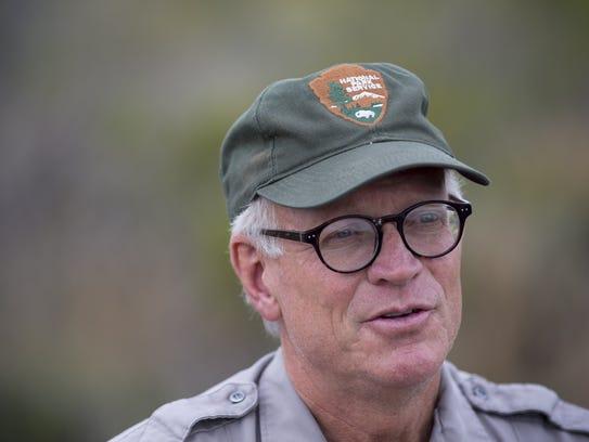 Raymond Skiles, a wildlife biologist at Big Bend National