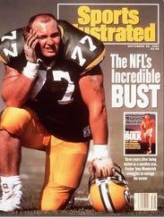 Tony Mandarich Green Bay Packers September 28, 1992