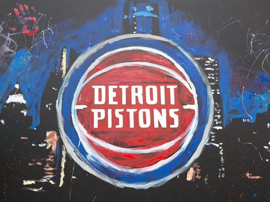 New Pistons logo, Pistons logo
