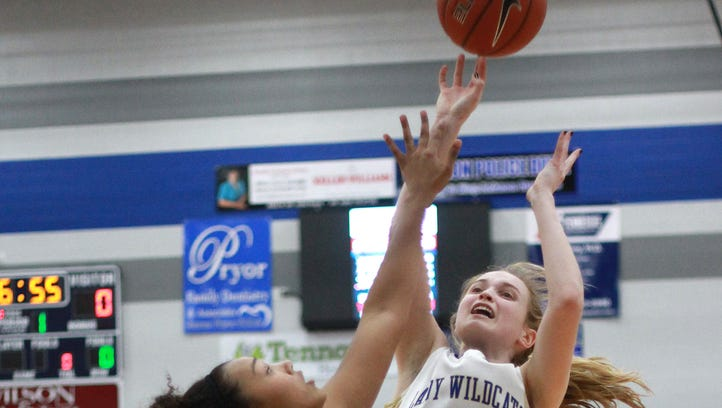 Mr. Juliet's Aaliyah Frazier guards Wilson Central's