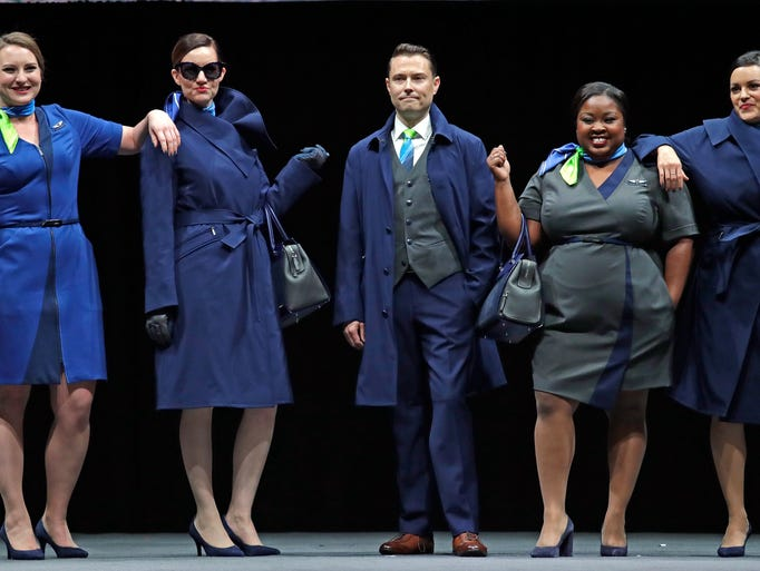 Alaska Airlines Unveil New Uniforms For 19 000 Employees