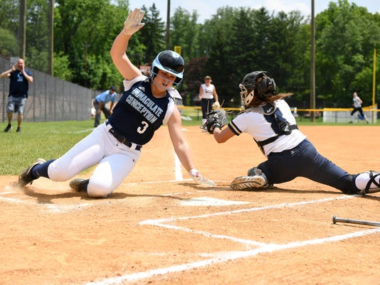 Bergen softball tournament semifinals