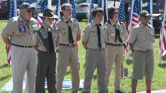 Scenes from Monday's Cheatham County Memorial Day program, which was held at Riverbluff Park in Ashland City.