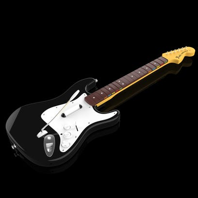 A guitar controller for the upcoming 'Rock Band 4'