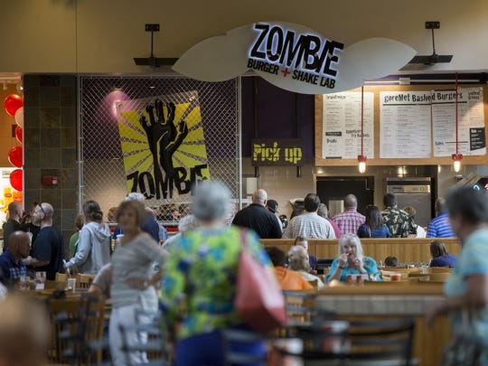 Zombie Burger is a local favorite burger restaurant.