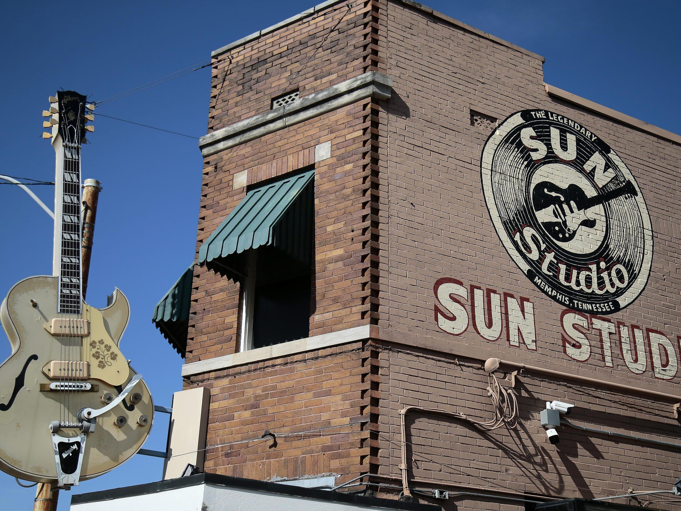The Sun Studio building in Memphis, Tenn., today.