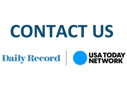 DAILY RECORD CONTACT US