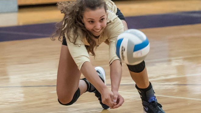 Harper Creek senior Charley Andrews has been named a 2016 Miss Volleyball Award finalist.