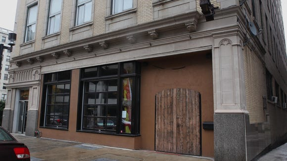 Exterior photos of building that would house a proposed strip club at 730 N. Old World Third St. in Milwaukee.