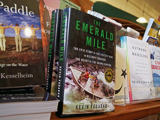 Kevin Fedarko's book, The Emerald Mile, is the focus of a book-signing event today at San Juan College and an author presentation later today.