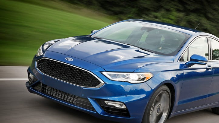 Car review: 2017 Ford Fusion Sport