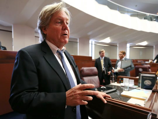 Sen. Tick Segerblom, D-Las Vegas, seen here in the