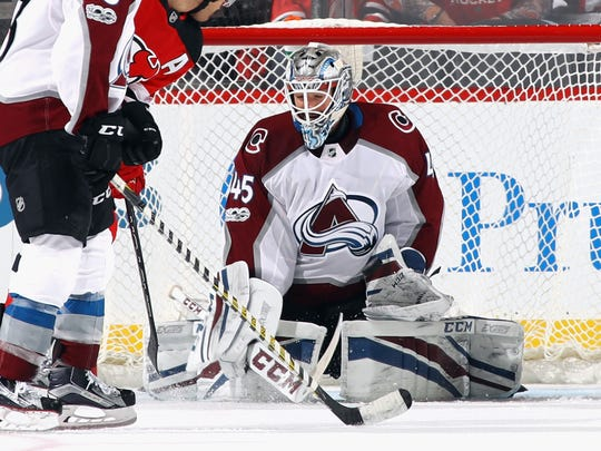 Jonathan Bernier, 29, signed a three-year, $9 million deal with the Detroit Red Wings.