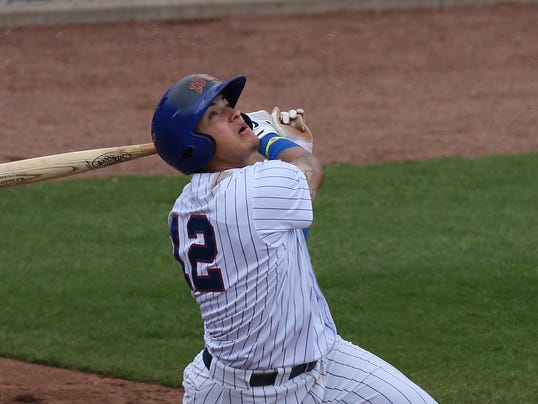 Javier Baez Iowa Cubs Second Base