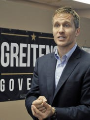 Republican candidate for governor Eric Greitens
